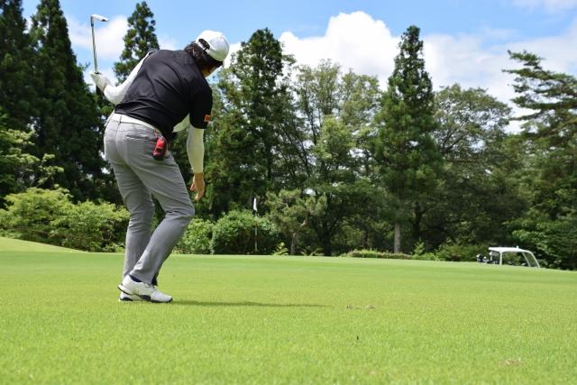 ゴルフでミスショット