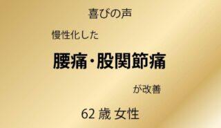 サムネイル:宇都宮市 他で改善しない慢性腰痛・股関節痛が改善