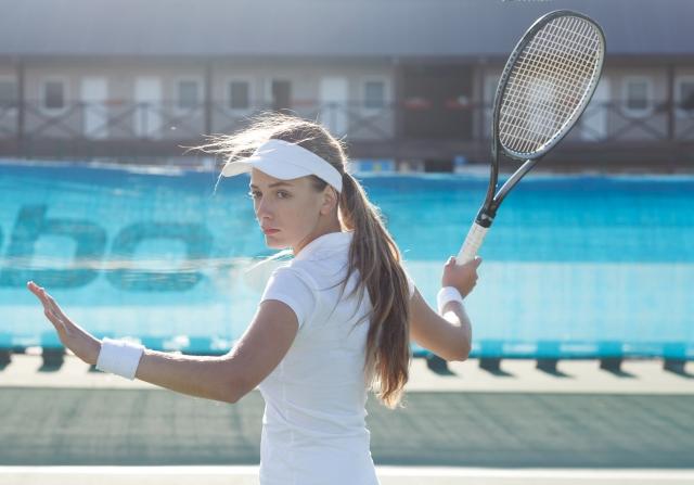 ソフトテニスイップスが改善。ストロークが打てない、ネットにかかってしまう